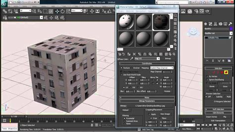 ds max   texture  bitmap images tutorial