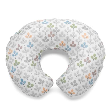 Boppy Slipcovers Chicco Boppy Cotton Slipcover Silverleaf