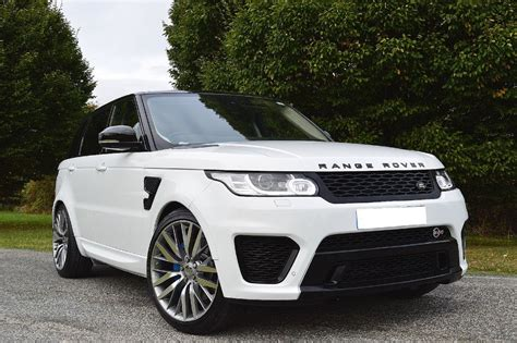 Used White Land Rover Range Rover Sport For Sale Essex