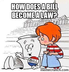 How To Become A Meme - how does a bill become a law