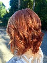 Redheads with copper highlights