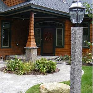 9, Ways, To, Light, Up, Your, Landscape, With, Granite, Lamp, Posts