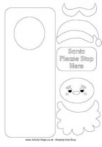 7 best images of printables santa christmas craft printable christmas paper bags crafts santa