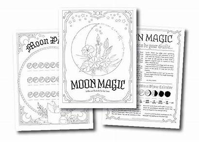 Coloring Shadows Pages Spells Spell Books Really