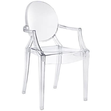 chaises transparente louis ghost chair kartell