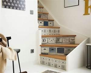 Faire Briller Des Carreaux De Ciment : relookez votre escalier avec des stickers tout savoir en 1 min ~ Melissatoandfro.com Idées de Décoration