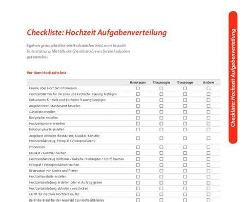 checkliste hochzeit  freewarede