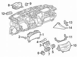 Cadillac Escalade Headlight Switch  Escalade  Escalade Esv