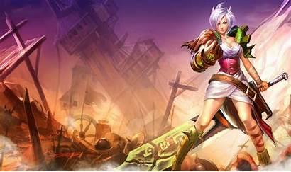 Riven League Legends Lol Desktop Wallpapers Champion