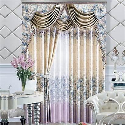 Curtains Drapes Window Treatments End Printing Luxury