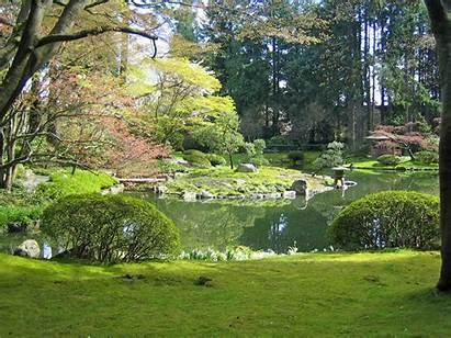 Garden Nitobe Landscape Zen Memorial Japanese Pond