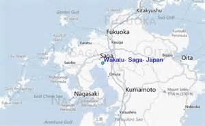 Saga Japan Map