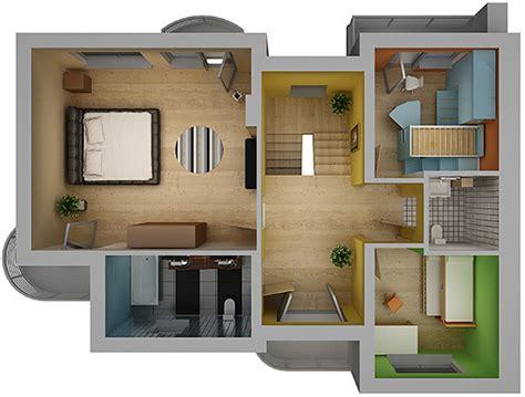 home interior plan home interior floor plan 02 by visualcg 3docean