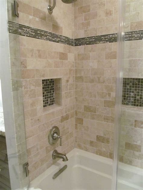 travertine kitchen floor the shower surround is a travertine tile the accent tile 2921