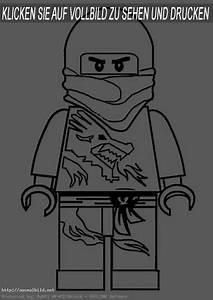 Ninjago 1 Ausmalbild