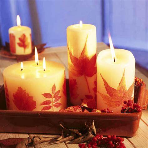 candles centerpieces  rowan berries  rose hips