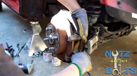 acura integra gsr rear brakes replacement youtube