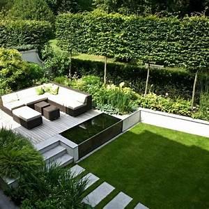 Gartengestaltung Mit Teich : moderne gartengestaltung 110 inspirierende ideen in bildern ~ Markanthonyermac.com Haus und Dekorationen