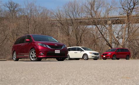 2014 Minivan Comparison Test » Autoguidecom News
