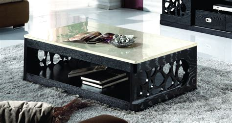 coffee tables ideas modern black marble coffee table set