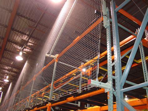 pallet rack safety netting