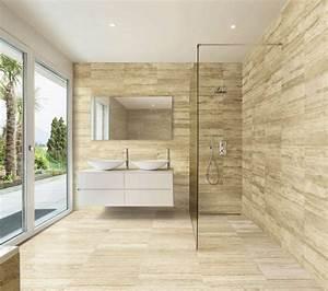 Badezimmer Fliesen Verkleiden : die besten 25 travertin fliesen ideen auf pinterest badezimmer aus travertin ~ Sanjose-hotels-ca.com Haus und Dekorationen