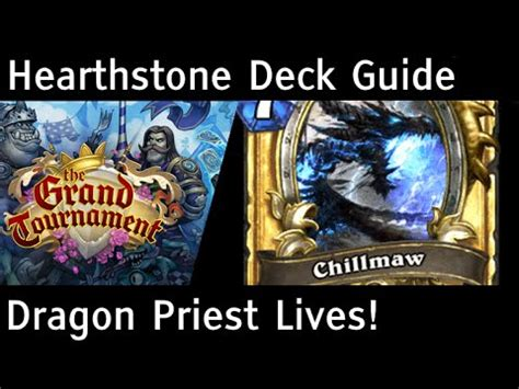 Hearthstone Grand Tournament Totem Deck by It S Back Priest Deck Guide Tgt Hearthstone