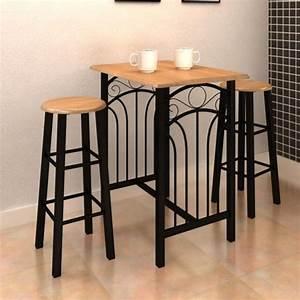 Haute Table De Bar : la boutique en ligne lot d 39 une table haute de bar avec 2 ~ Edinachiropracticcenter.com Idées de Décoration