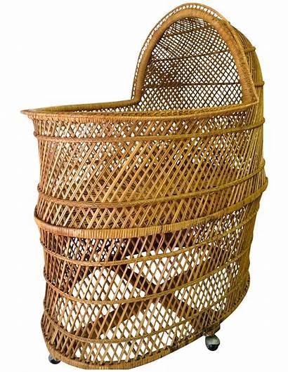 Wicker Bassinet Chairish