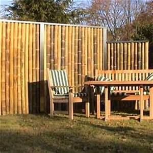 Bambus Edelstahl Sichtschutz : sichtschutz uebersicht naturzaun aus bambus rinde und weide sichtschutzstreifen alternativen ~ Markanthonyermac.com Haus und Dekorationen