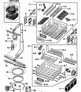 Samsung Dishwasher Dmt800rhs Parts Diagram