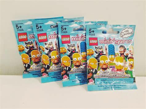 lego blind bags blind box bag roundup 05 simpsons lego minifigures