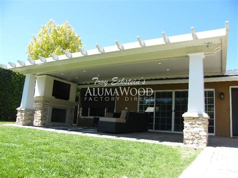 alumawood lattice freestanding patio cover alumawood
