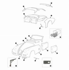 Parts For Jaguar Xk120  Xk140 And Xk150  U2022 Wings  Doors And