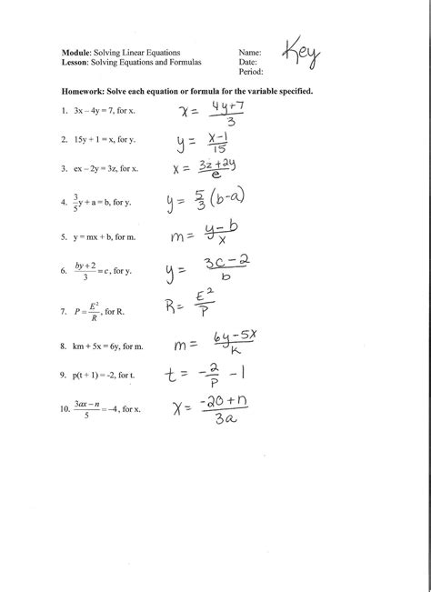 Multi Step Equations With Fractions Worksheet Pdf  How To Solve Two Step Equations Fractions