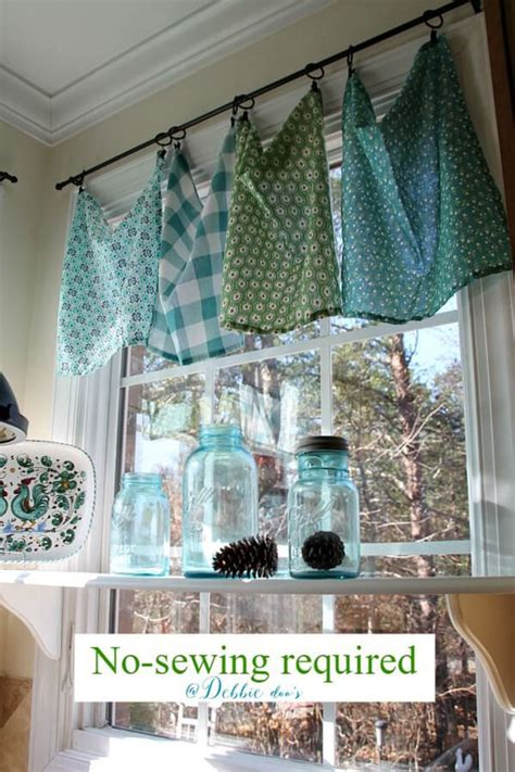 diy kitchen curtain ideas 35 best diy window treatment ideas and desings for 2017