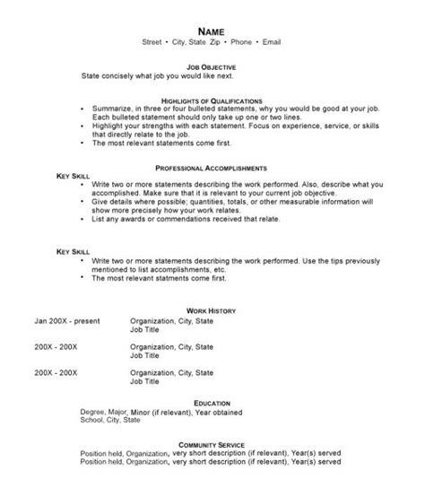 Hybrid Resume Template by Hybrid Resume Resume Functional Resume