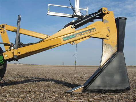 Gold Digger Tile Plow by Farm Drainage Plow System Drain Ploughs Soil Probes
