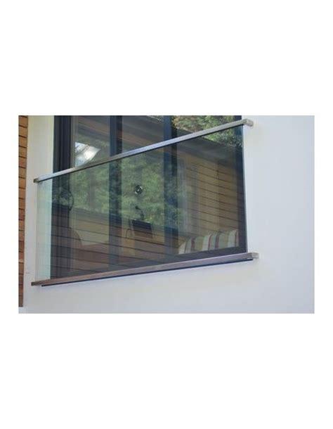 franzoesischer balkon  aus glas tvg mm cutinox