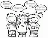 Manners Preschool Coloring Teacherspayteachers Printables Manner Kindergarten Teaching Lessons Crafts Montessori sketch template