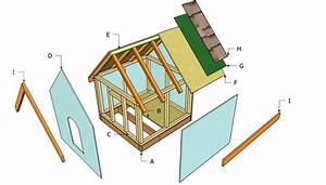 simple dog house plans myoutdoorplans free woodworking With simple dog house plans