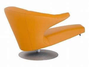 Sessel parabolica leder aluminium b 95 cm t 150 cm h 80 for Sessel parabolica
