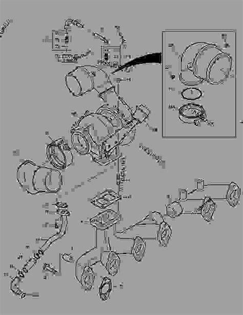 EXHAUST SYSTEM - WHEEL LOADER Doosan DL400 - ENGINE PARTS