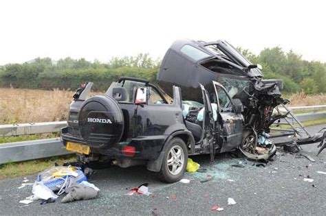 Photos Released Of Horror Crash In Which Seven Year-old