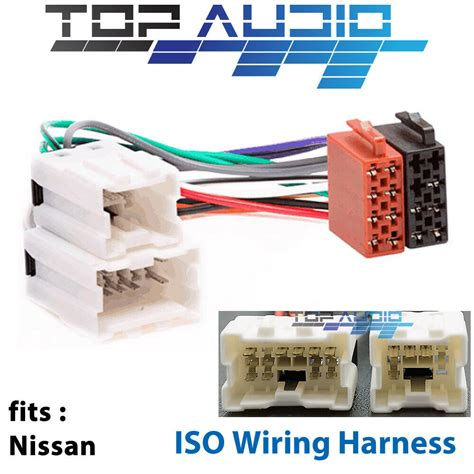 Nissan Audio Wiring by Fit Nissan Navara D21 D22 Iso Wiring Harness Radio Adaptor