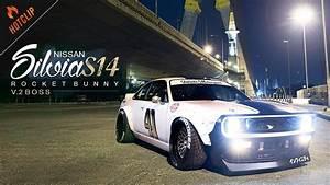 Nissan Silvia S14  U0e1e U0e23 U0e49 U0e2d U0e21 U0e0a U0e38 U0e14 U0e23 U0e1a U0e08 U0e32 U0e01 Rocket Bunny  U0e08 U0e32 U0e01  U0e15 U0e35 U0e4b V12