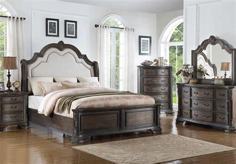 sheffield antique grey king bedroom set louisville