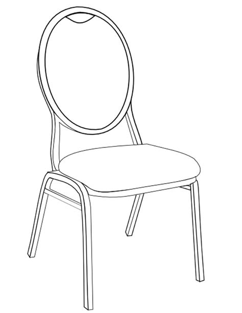 chaise fauteuil bureau coloriage chaise à imprimer gratuitement