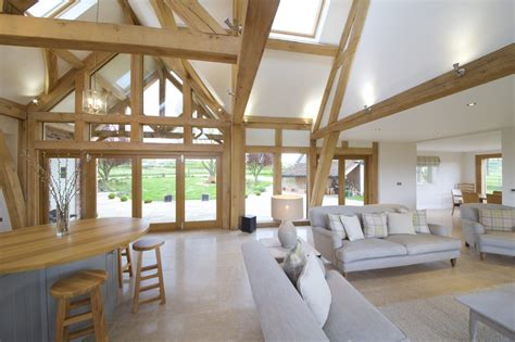 oak framed kitchen dining  garden room extension