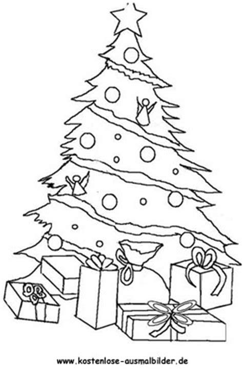 weihnachtsbaum weihnachten ausmalen malvorlagen